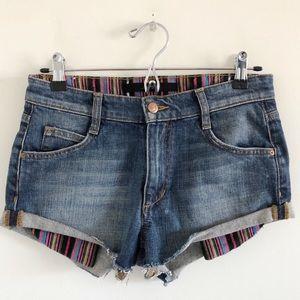"""Joe's Jeans 2"""" Cutoff Shorts in Georgie Size 26"""